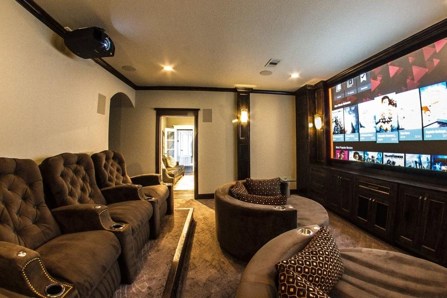 Bring a Home Theater System to Life in a Multi-Purpose Media Room